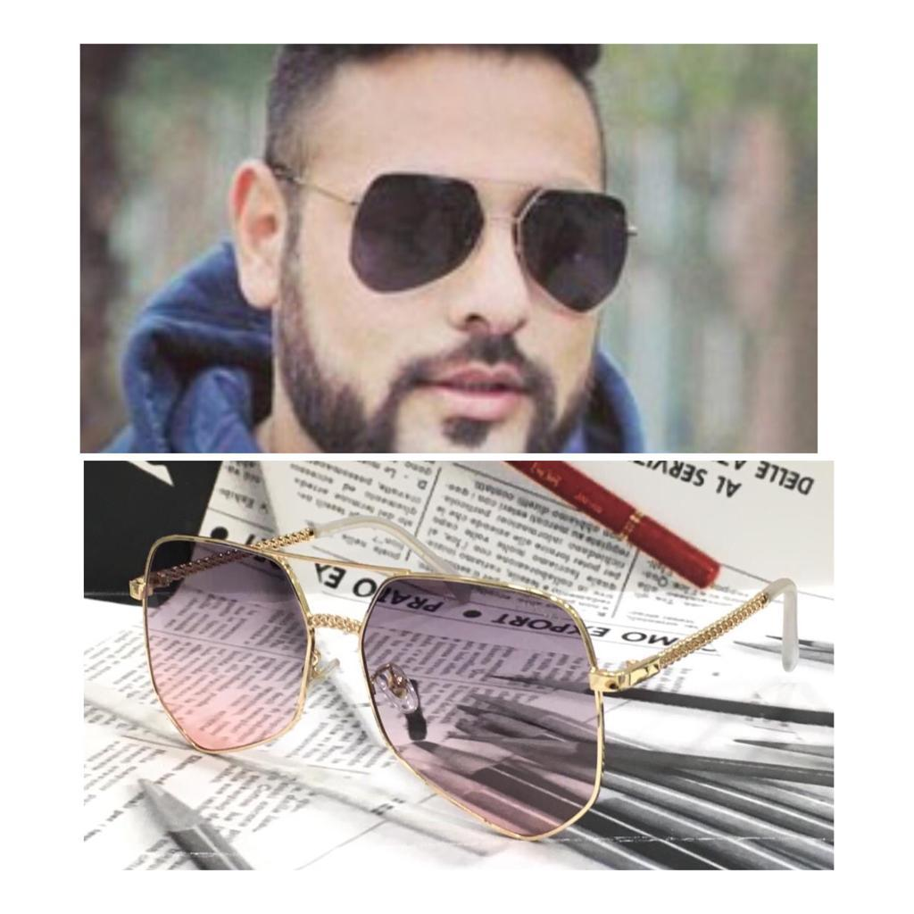 Baadshah newest model metallic cutty Aviator