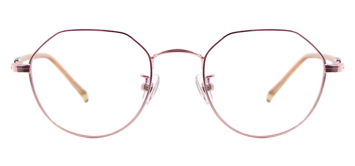 Wholesale Metal Full Rim Men And Women Round Glasses Frames